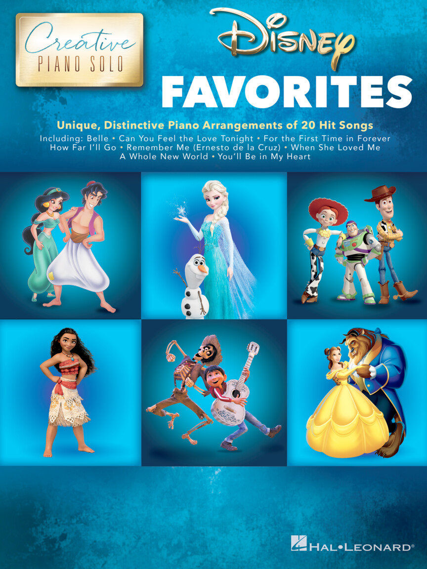 Product Cover for Disney Favorites – Creative Piano Solo