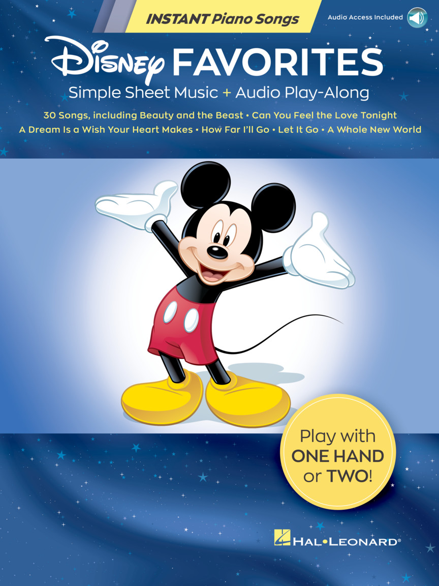 Disney Favorites Instant Piano Songs
