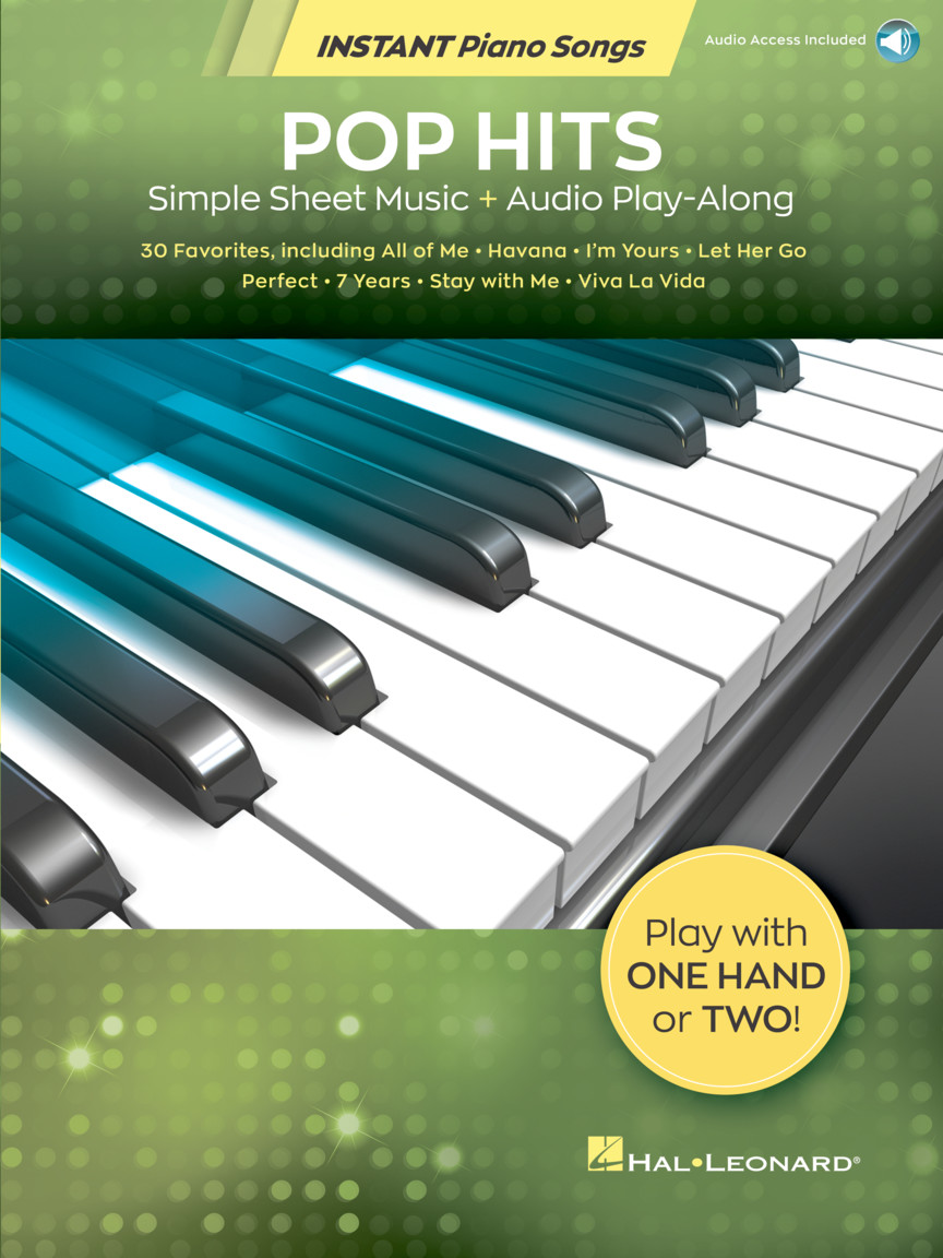 Pop Hits Instant Piano Songs