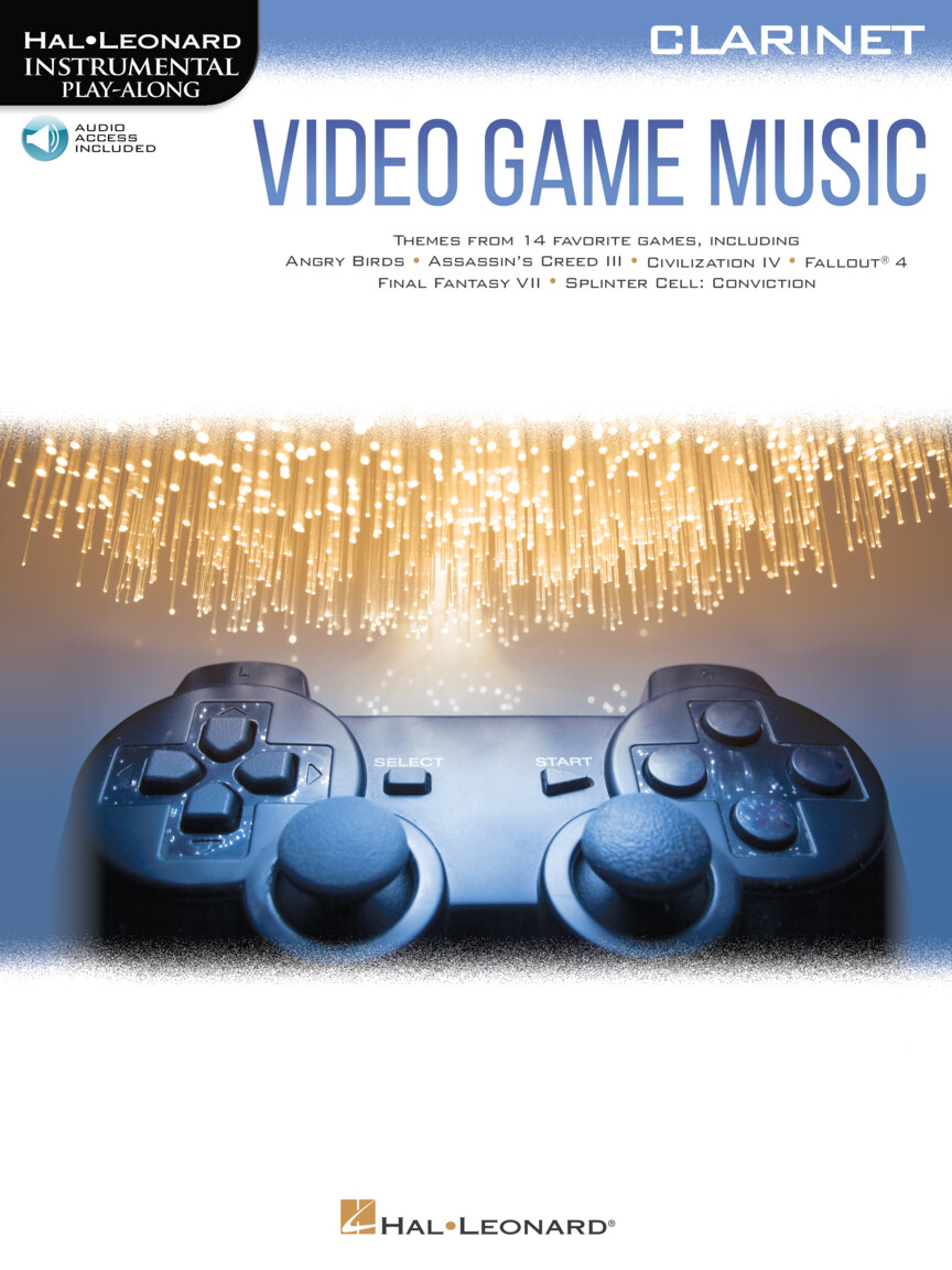 Product Cover for Video Game Music for Clarinet