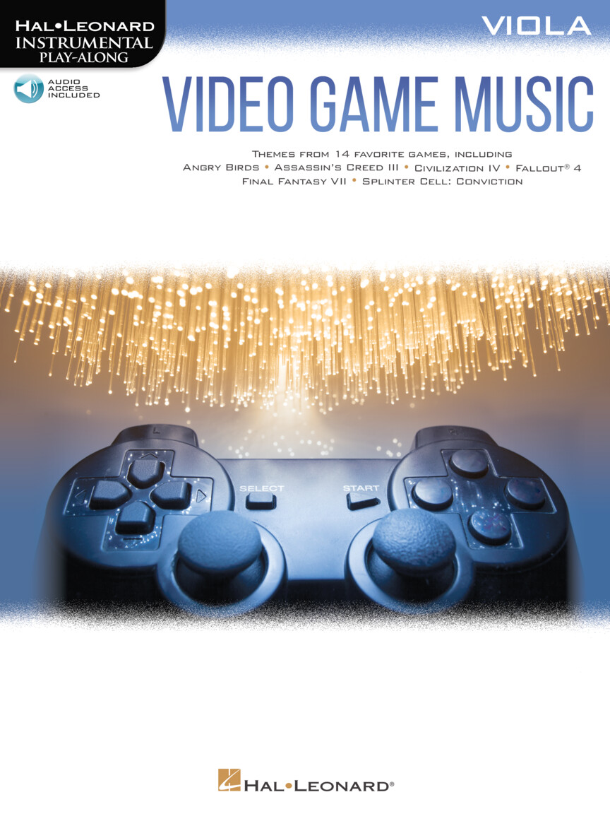 Product Cover for Video Game Music for Viola