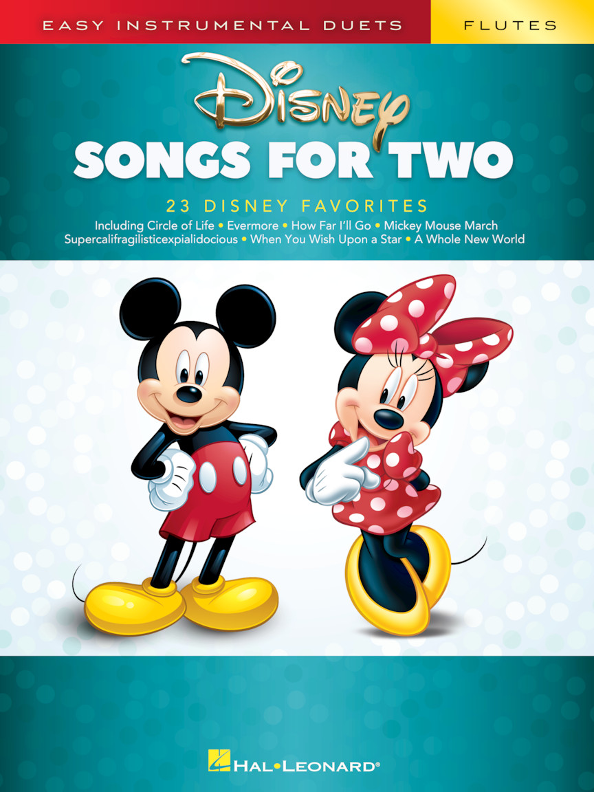 Product Cover for Disney Songs for Two Flutes