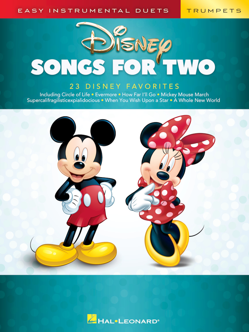 Product Cover for Disney Songs for Two Trumpets