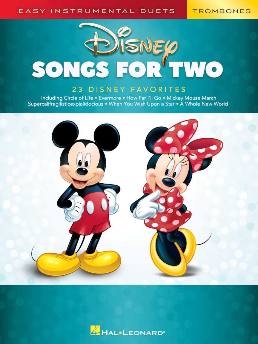Product Cover for Disney Songs for Two Trombones