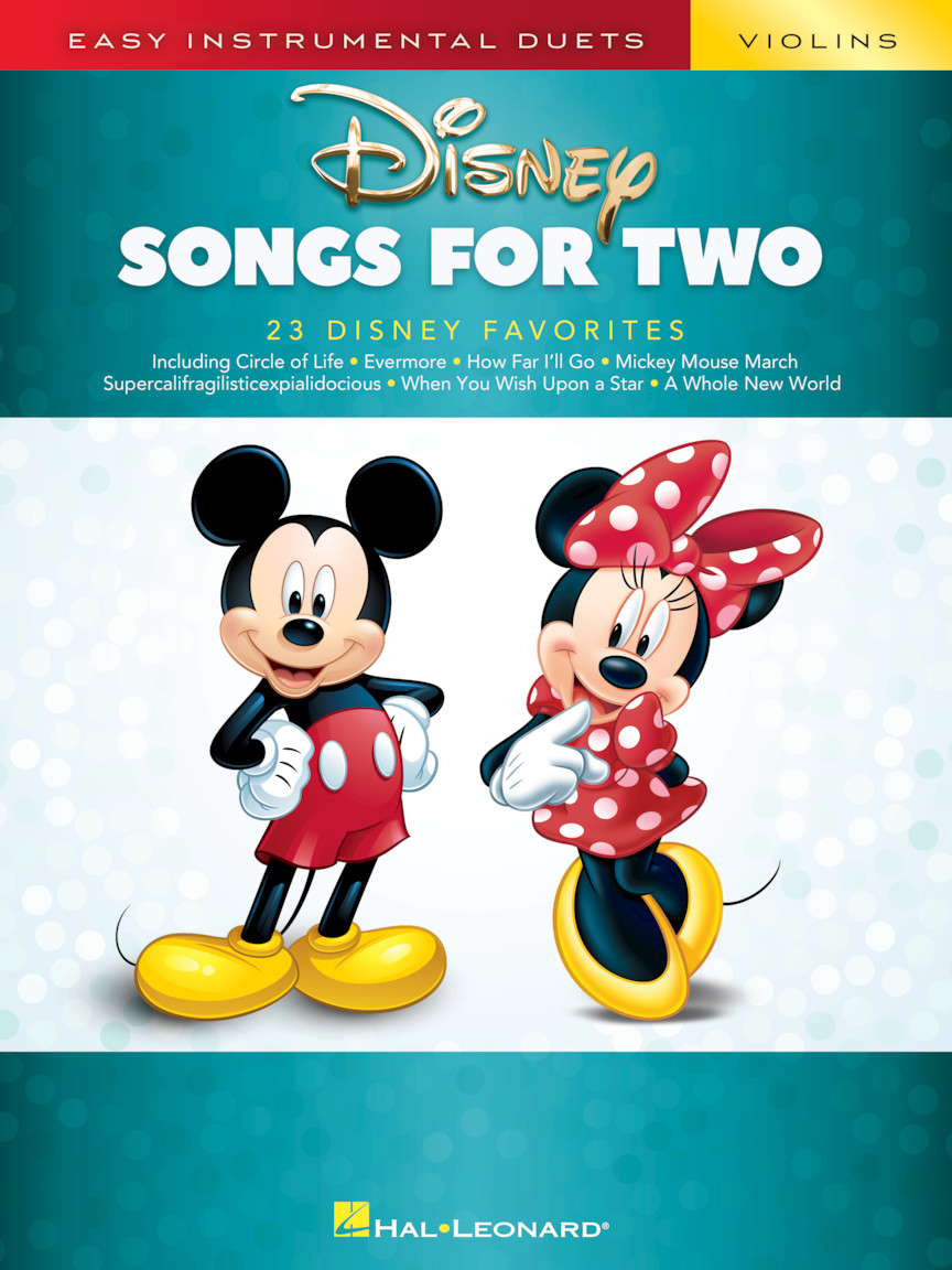Product Cover for Disney Songs for Two Violins
