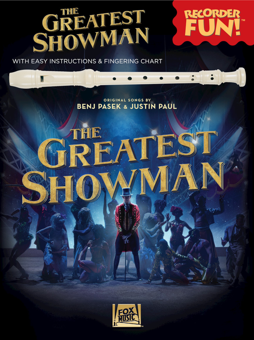 Product Cover for The Greatest Showman – Recorder Fun!