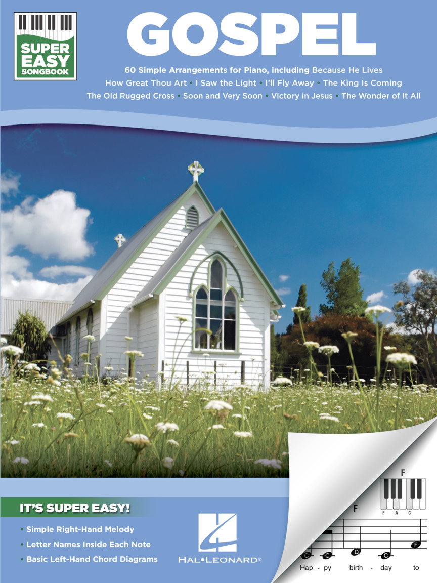 Product Cover for Gospel – Super Easy Songbook