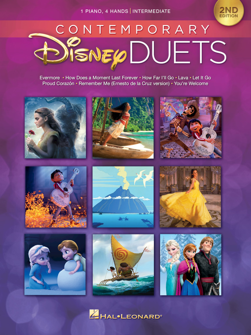Product Cover for Contemporary Disney Duets – 2nd Edition