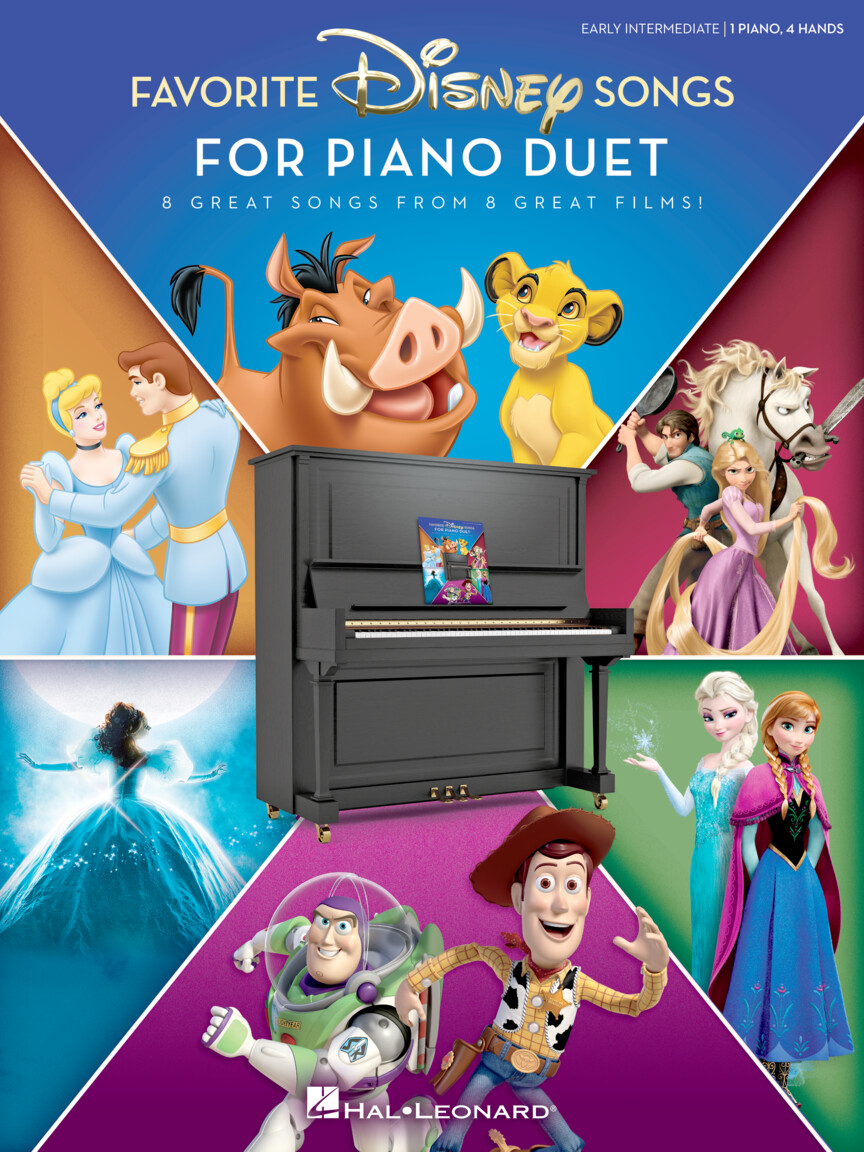 Product Cover for Favorite Disney Songs for Piano Duet