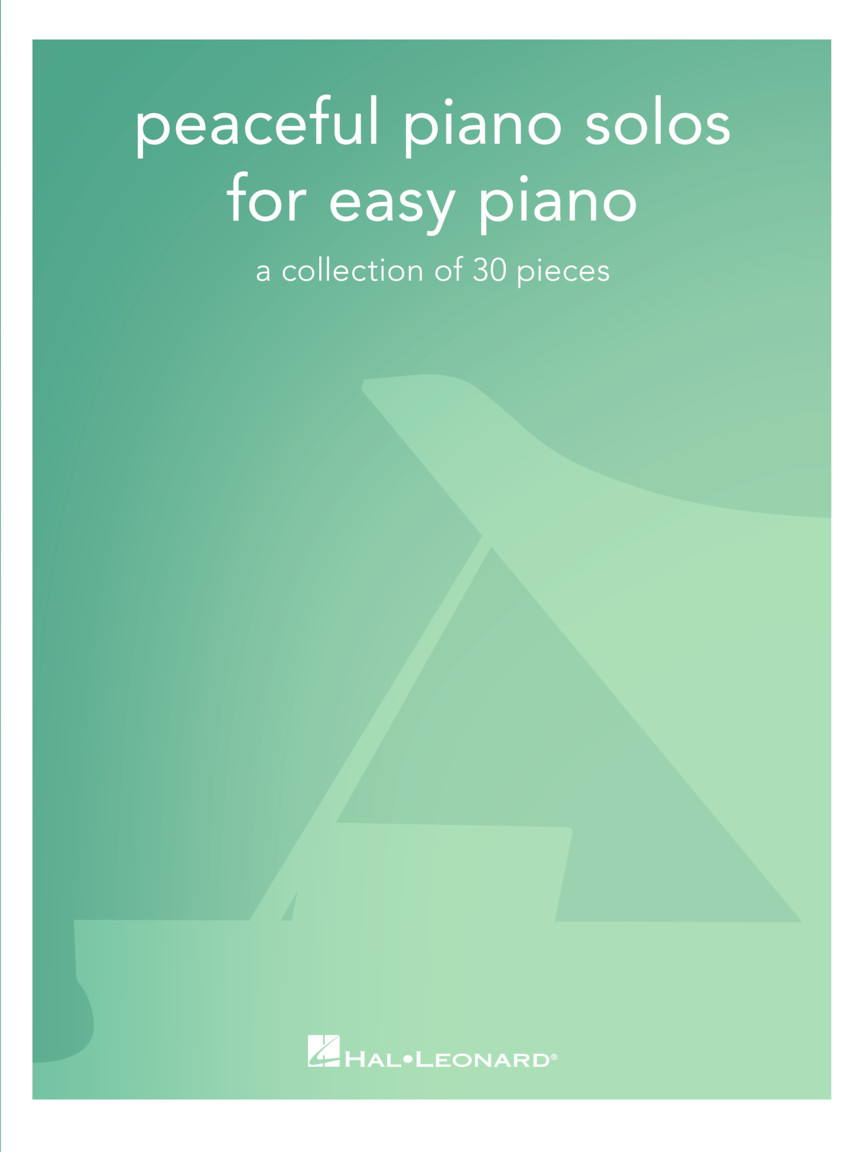 Product Cover for Peaceful Piano Solos for Easy Piano