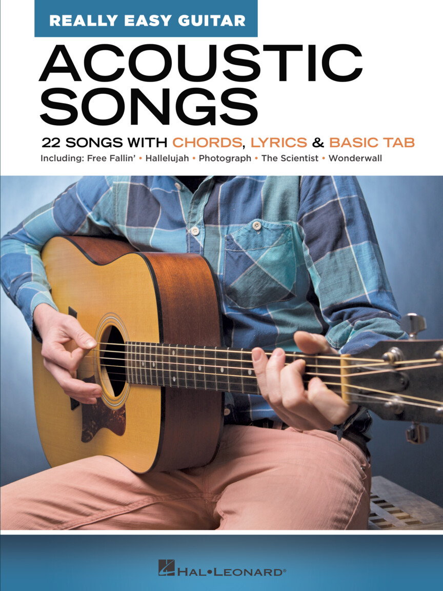 Product Cover for Acoustic Songs – Really Easy Guitar Series