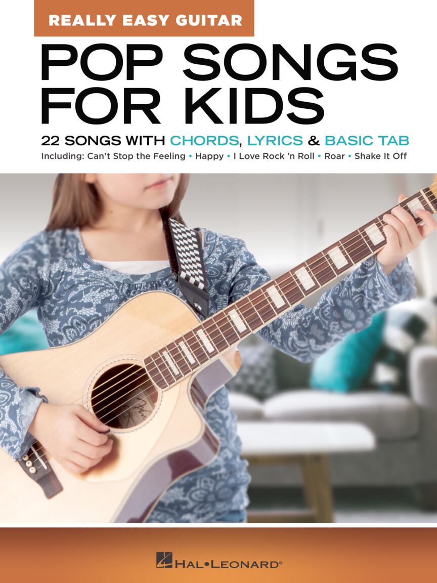Pop Songs for Kids Really Easy Guitar Series