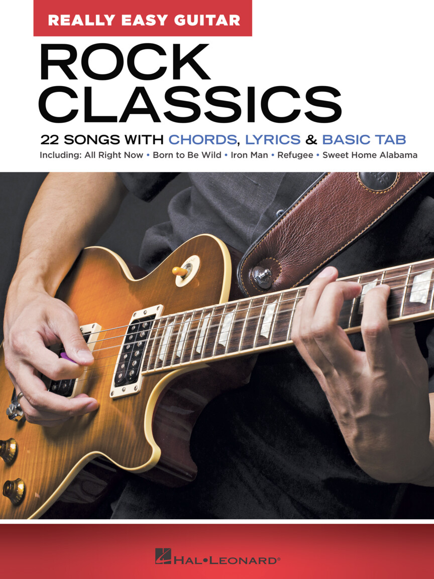 Product Cover for Rock Classics – Really Easy Guitar Series