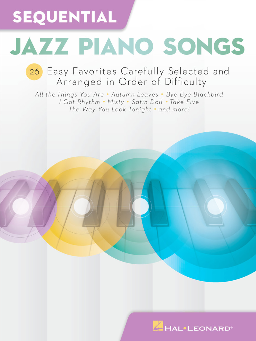 Product Cover for Sequential Jazz Piano Songs