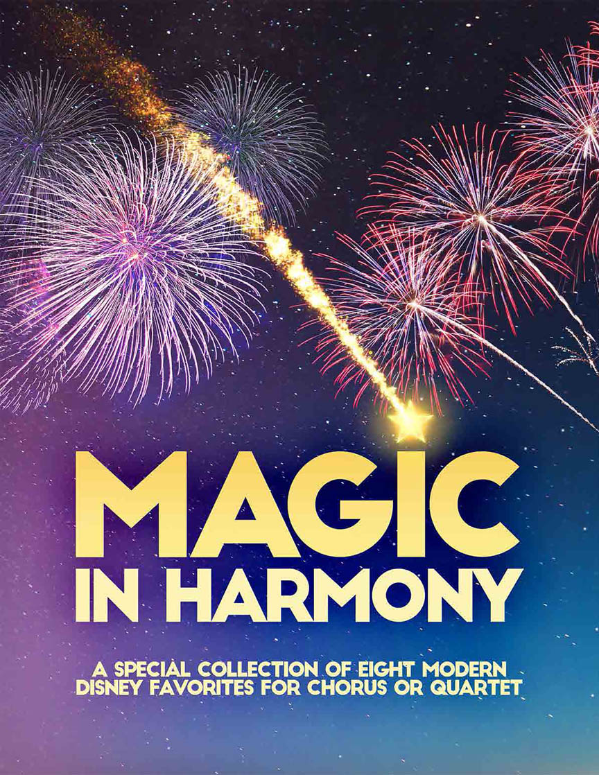Product Cover for Magic In Harmony Songbook