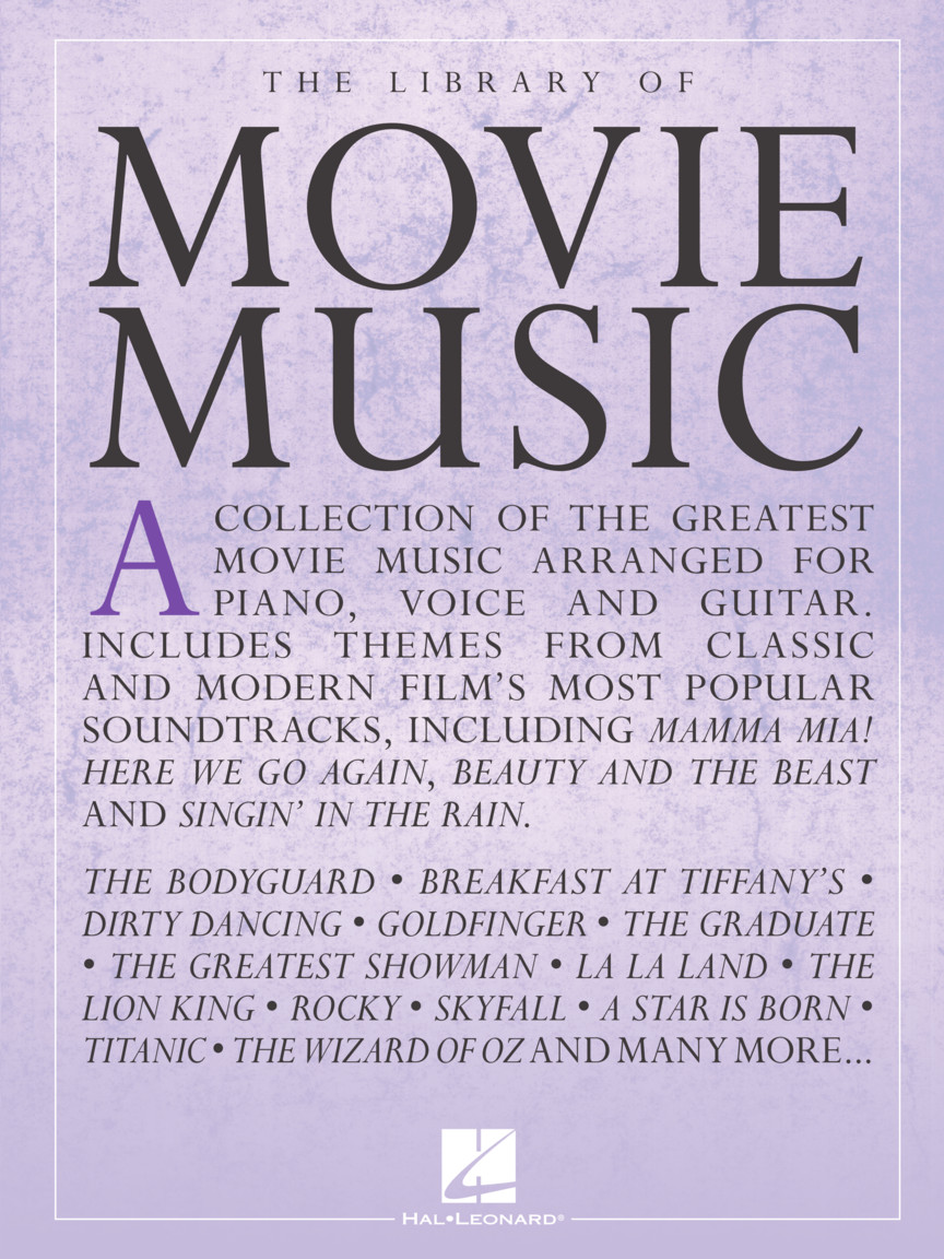 The Library Of Movie Music Hal Leonard Online