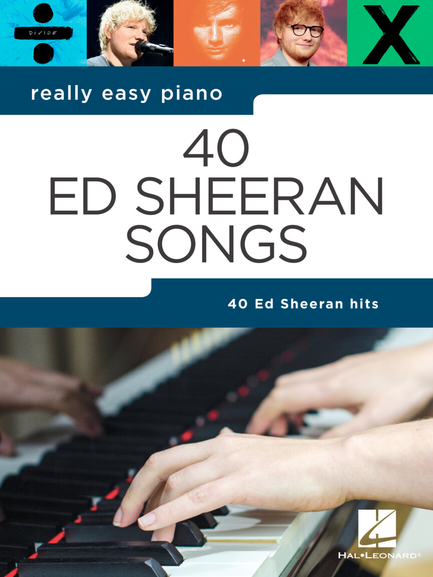 Product Cover for Ed Sheeran – Really Easy Piano