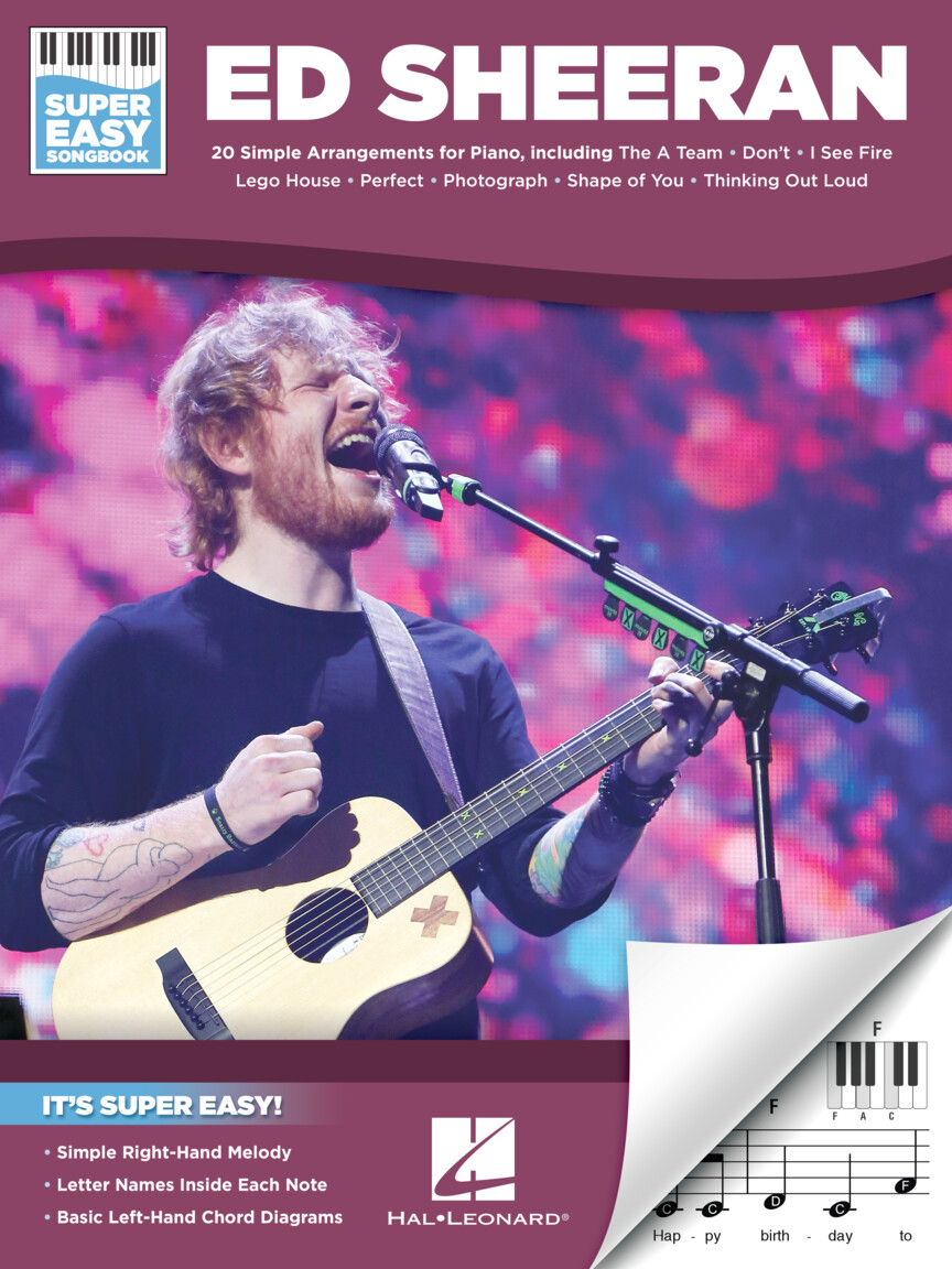 Ed Sheeran – Super Easy Songbook