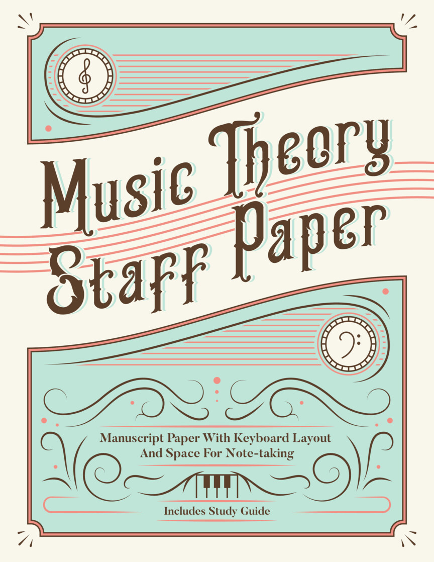Product Cover for Music Theory Staff Paper