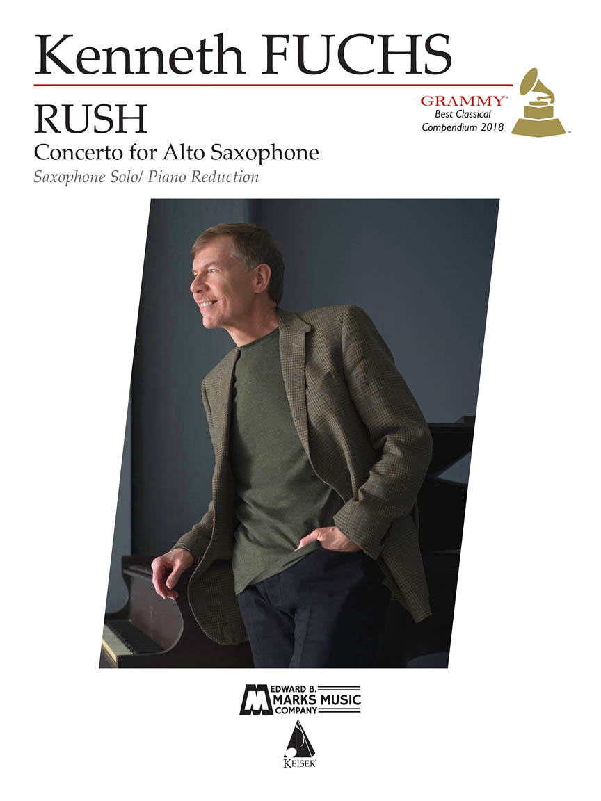 Product Cover for Rush: Concerto for E-flat Alto Saxophone