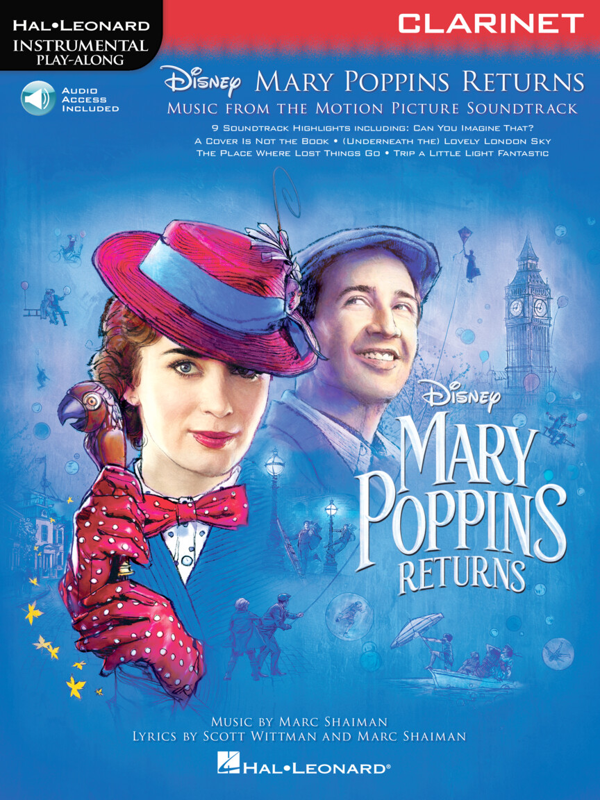 Product Cover for Mary Poppins Returns for Clarinet