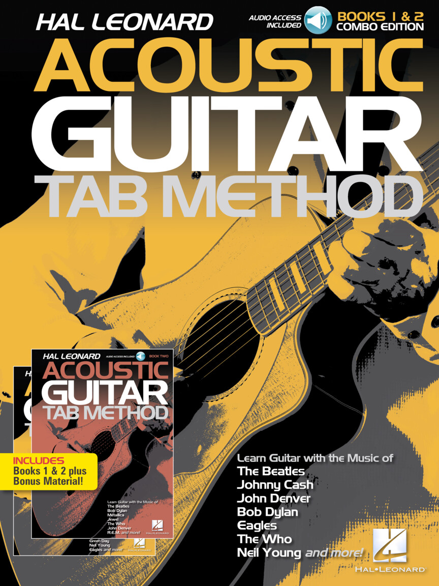 Hal Leonard Acoustic Guitar Tab Method – Combo Edition