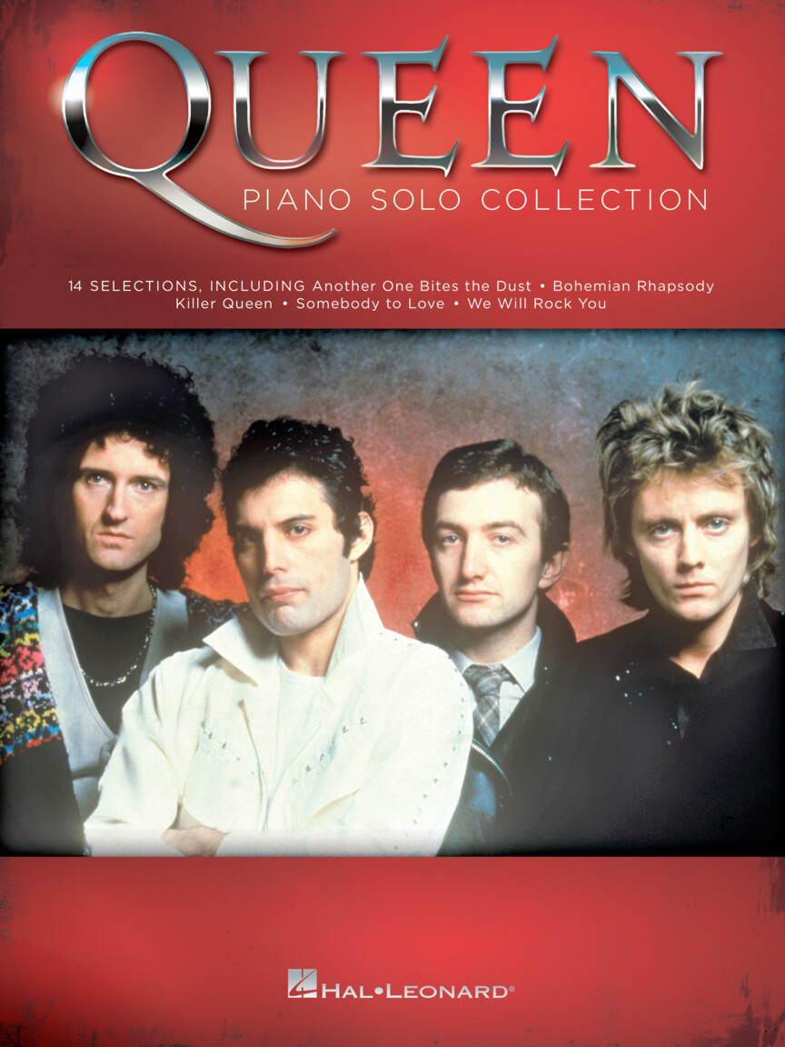Product Cover for Queen – Piano Solo Collection