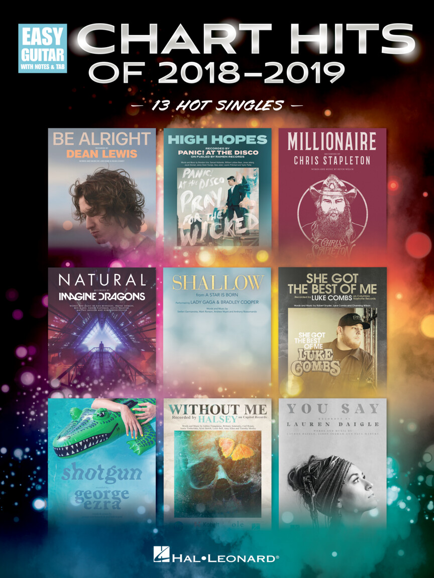 Product Cover for Chart Hits of 2018-2019