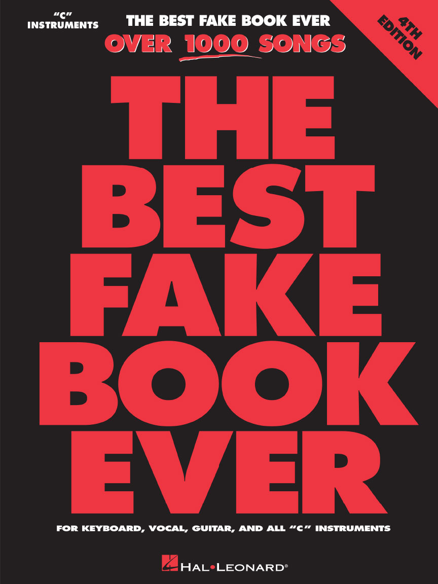 Product Cover for The Best Fake Book Ever – 4th Edition