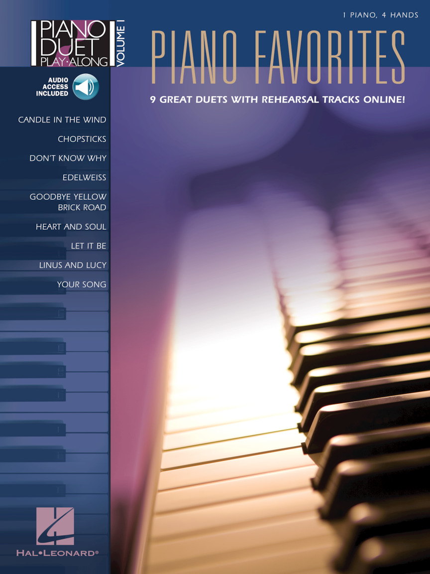 Product Cover for Piano Favorites