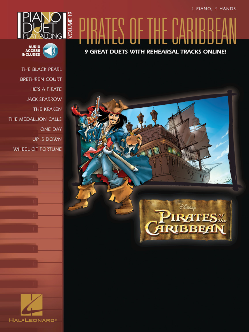 Pirates of the Caribbean - Piano Duet Play-Along Volume 19