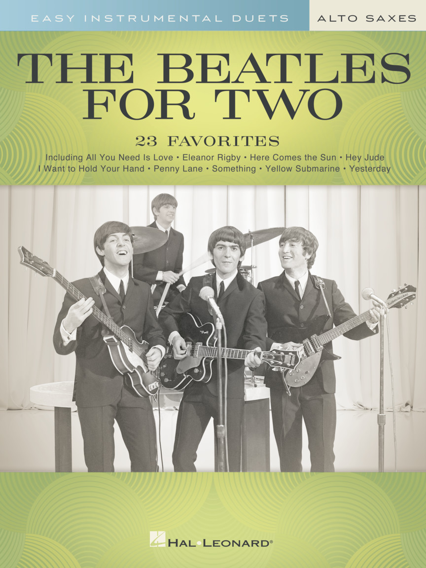 Product Cover for The Beatles for Two Alto Saxes