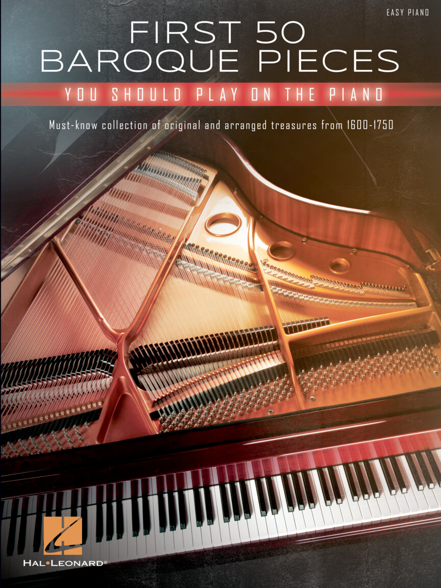 Product Cover for First 50 Baroque Pieces You Should Play on Piano