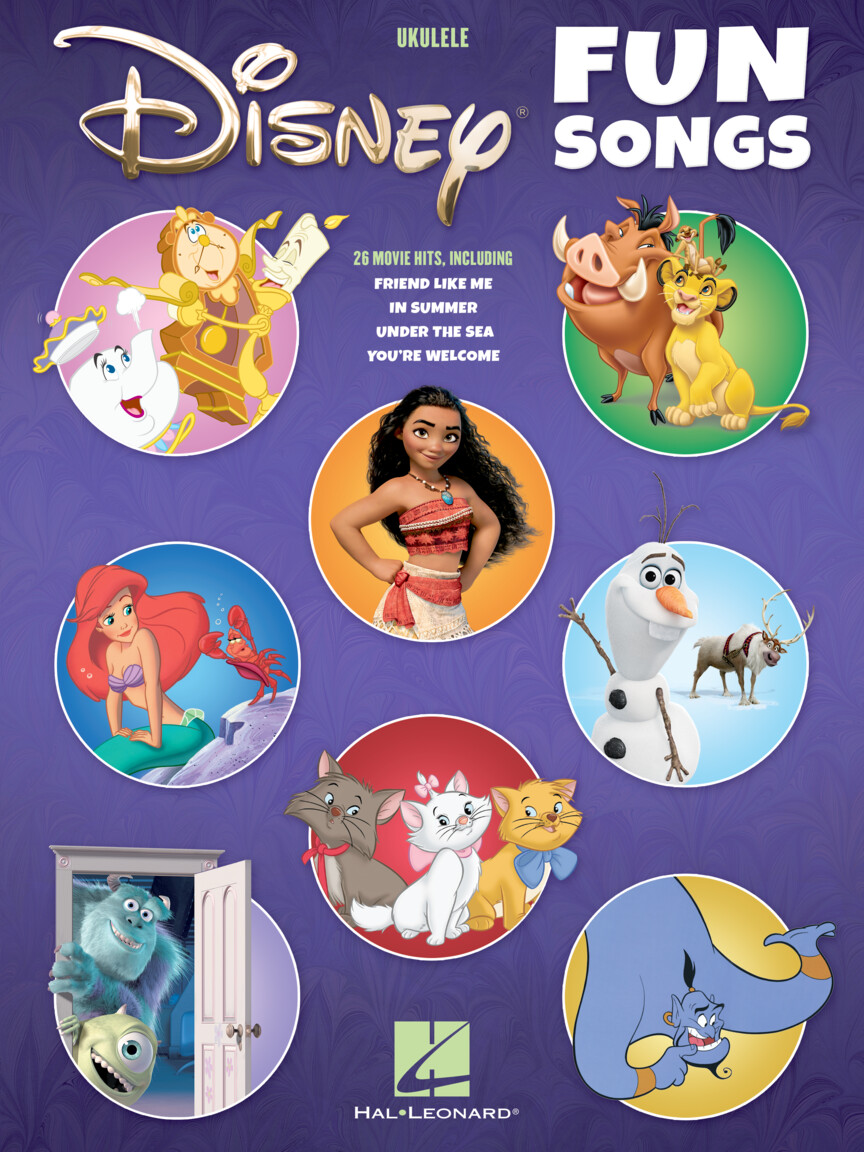 Disney Fun Songs for Ukulele