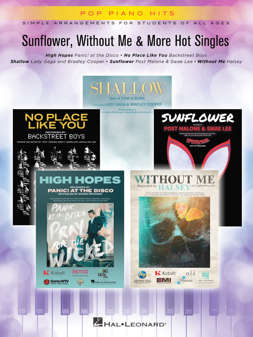 Product Cover for Sunflower, Without Me & More Hot Singles