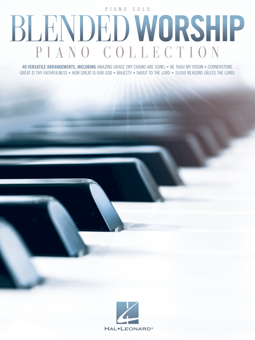Product Cover for Blended Worship Piano Collection