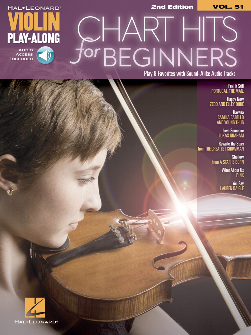 Chart Hits for Beginners Violin Play-Along