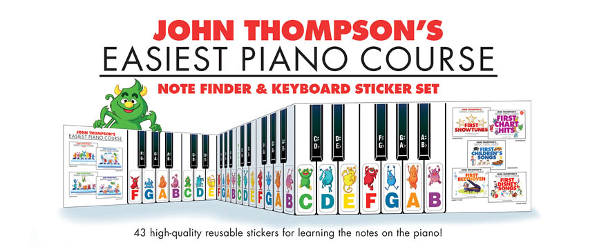 Product Cover for Note Finder & Keyboard Sticker Set