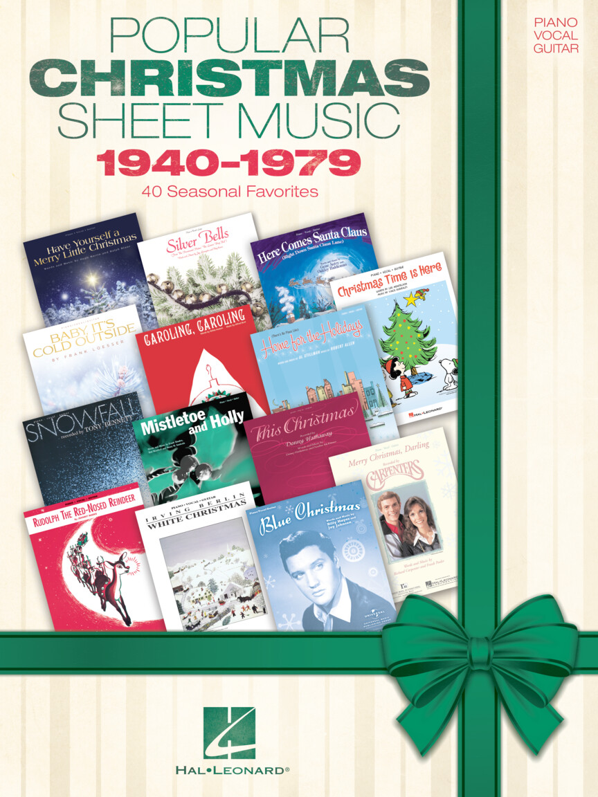 Product Cover for Popular Christmas Sheet Music: 1940-1979