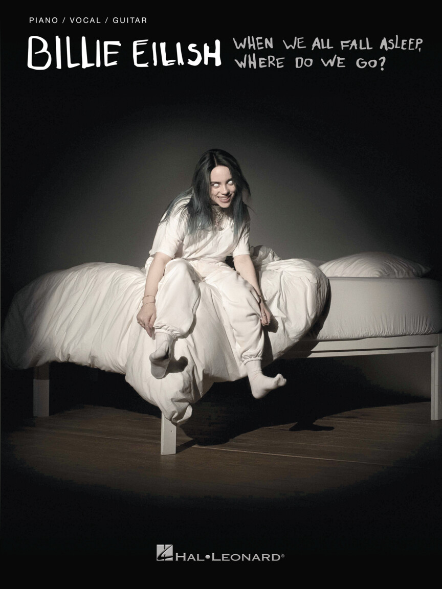 Billie Eilish PVG When We All Fall Asleep, Where Do We Go?