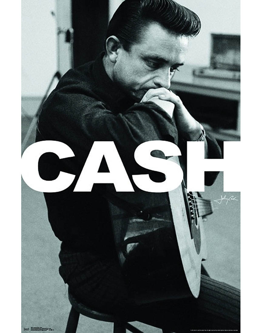 Product Cover for Johnny Cash Wall Poster