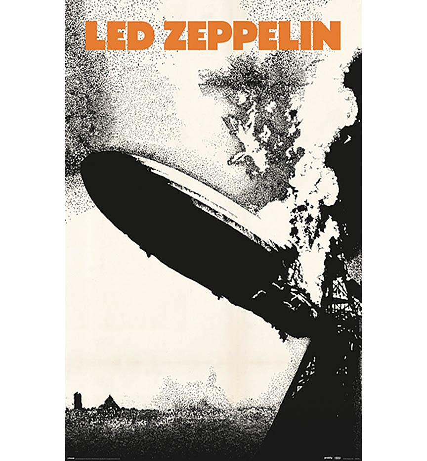 Product Cover for Led Zeppelin 1 Wall Poster