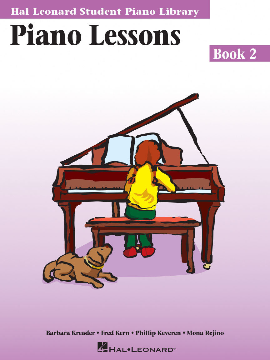 Product Cover for Piano Lessons Book 2