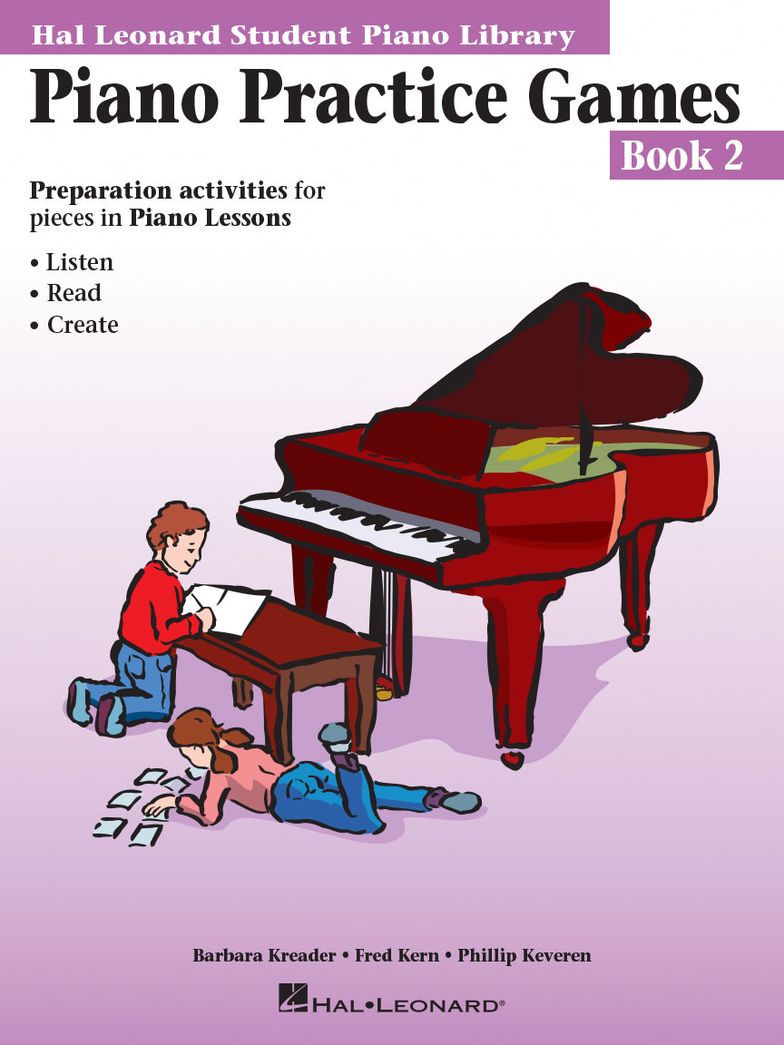 Product Cover for Piano Practice Games Book 2