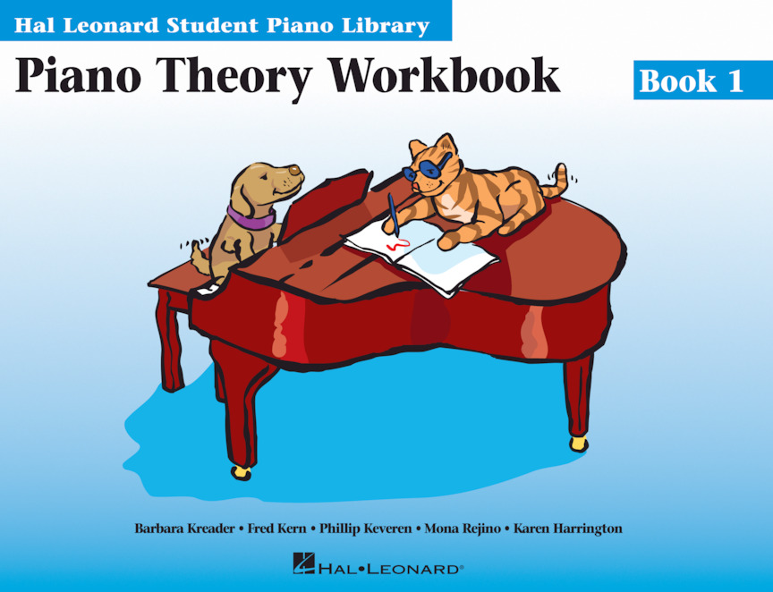 Product Cover for Piano Theory Workbook Book 1