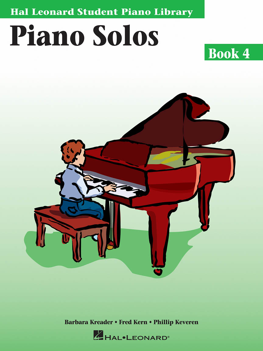 Product Cover for Piano Solos Book 4