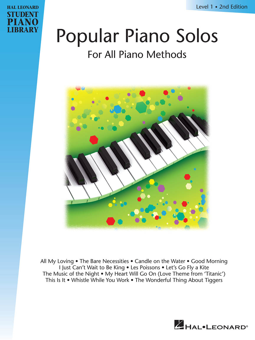 Product Cover for Popular Piano Solos – Level 1 – 2nd Edition