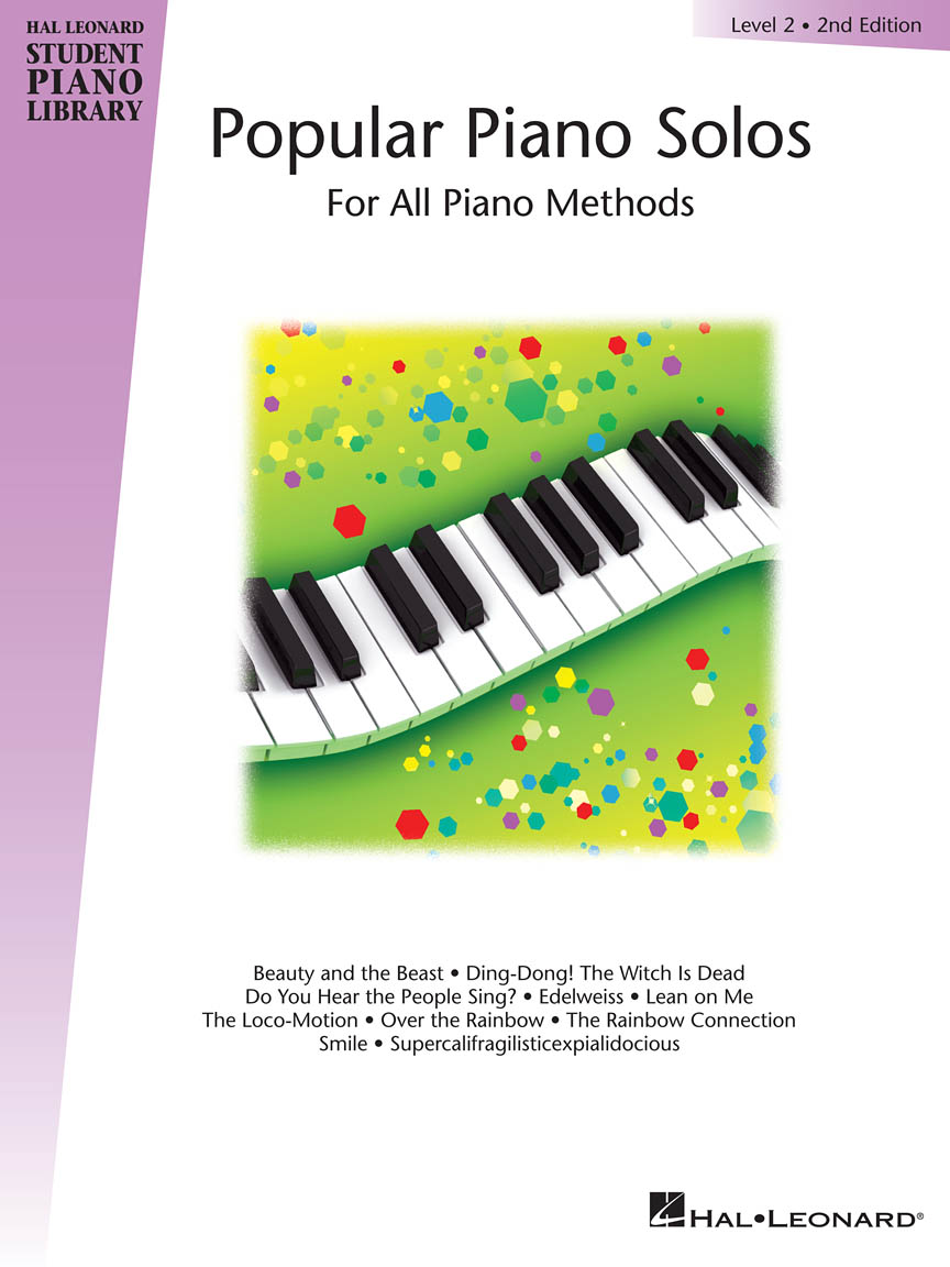 Product Cover for Popular Piano Solos – Level 2, 2nd Edition