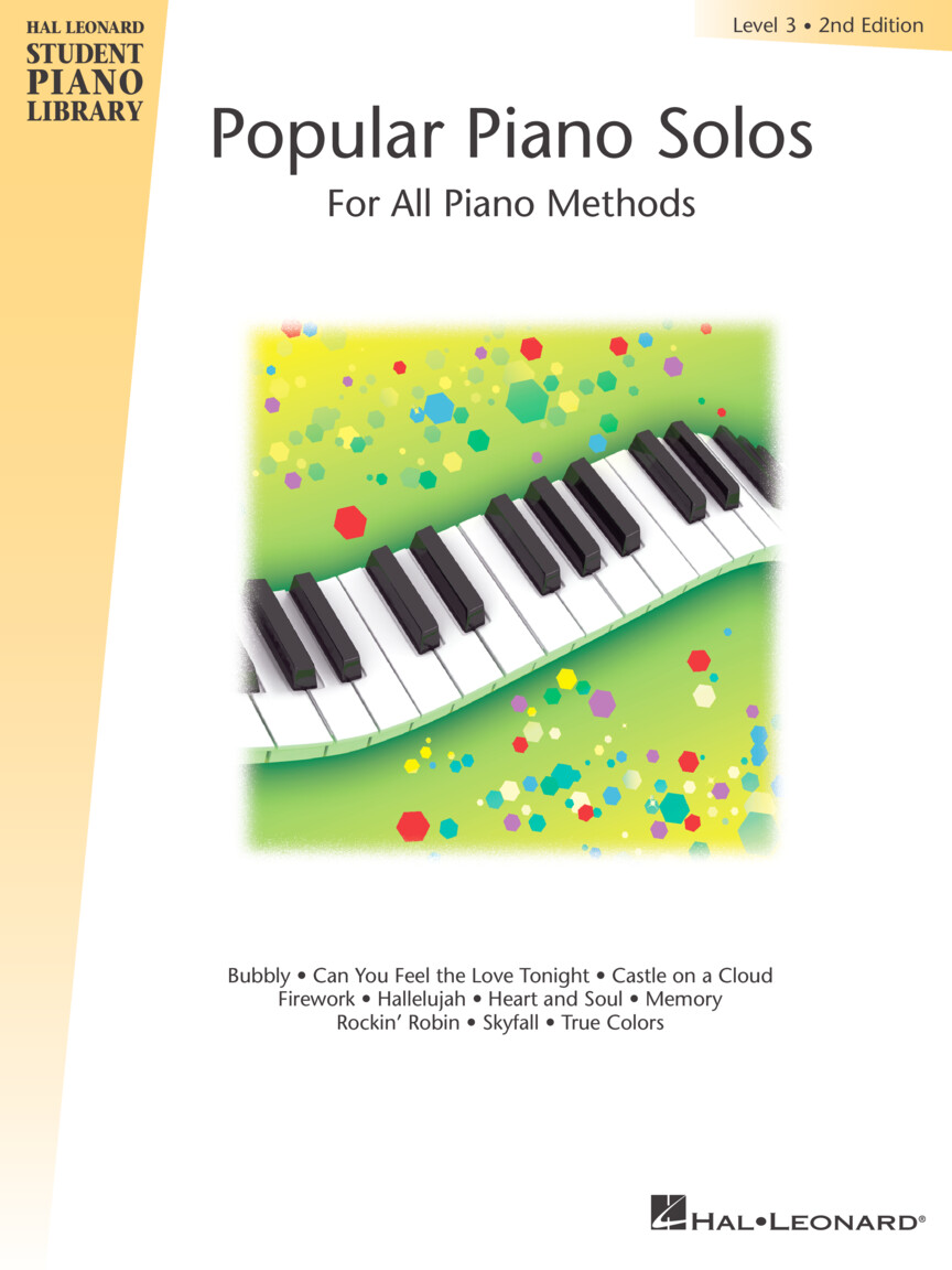 Product Cover for Popular Piano Solos – Level 3, 2nd Edition