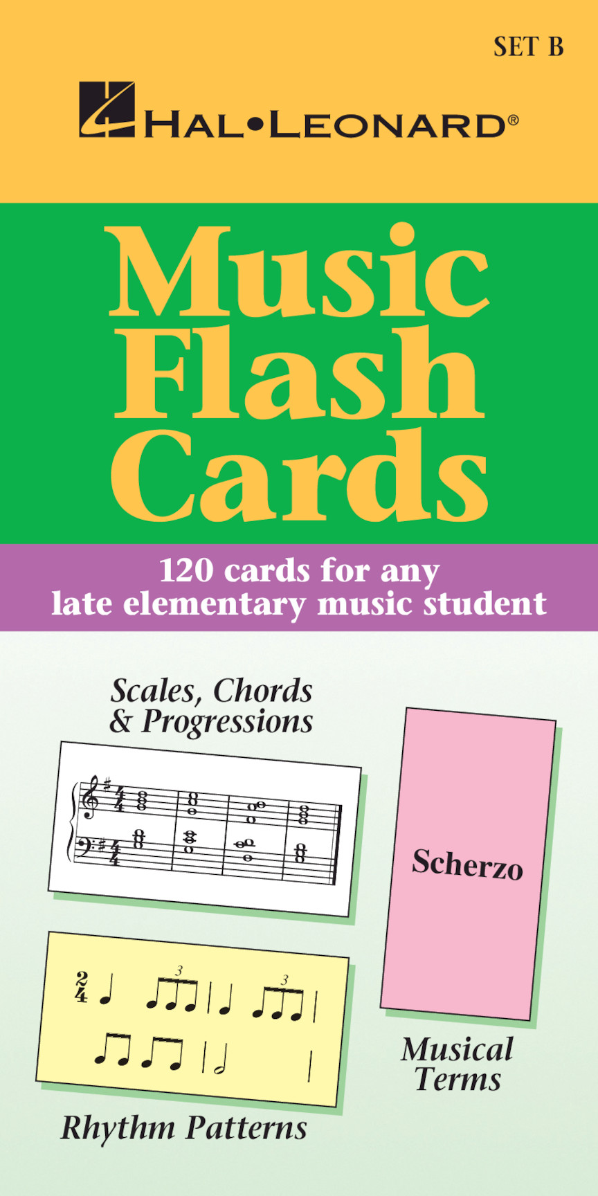 Product Cover for Music Flash Cards – Set B